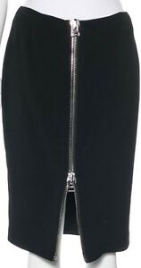 TOM FORD Black Skirt SZ 40 = US 4 - NWOT RT 1.4K
