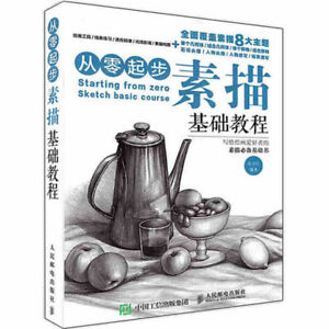 Chinese Learning Basic Sketch Drawing Techniques Art Book Pencil Sketch Painting