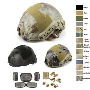 Outdoor CS Shooting Head Protect Gear OPS-CORE PJ BJ MH Fast Tactical Helmet