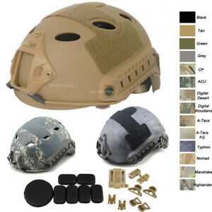 Outdoor CS Shooting Head Gear Simple Version PJ BJ MH Fast Tactical Helmet