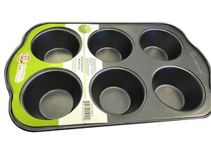 Uniware BN4501 High Quality Non-stick Cup CakeMuffin Pan 6 Cups Small