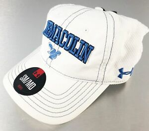 Under Armour Golf Hat Cap White Blue Nemacolin SMMD Fitted Golf Club