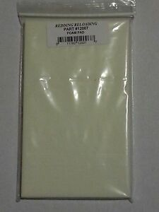 12007 REDDING CASE LUBE PAD REPLACEMENT FOAM - BRAND NEW - FREE SHIP