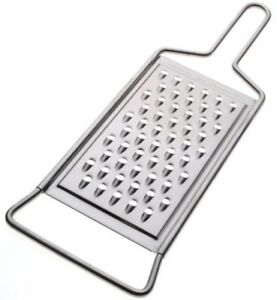 Norpro 354 Grater Stainless Steel Flat Grater Shredding Cheese Vegetable carrot