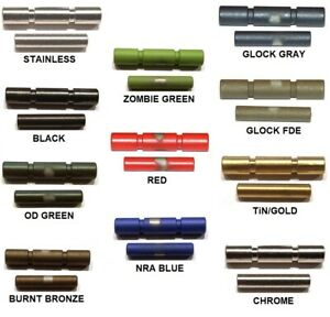 CDS Stainless Steel 2 Pin Kit For Glock 42 43 43X 48 Choose Custom Color $16.95