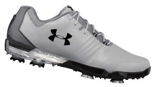 Under Armour Match Play Mens Golf Shoes 3019893-106 Steel Black - Pick Size