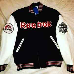 EA SPORTS REEBOK JACKET john madden  Adult Mens   ONE OWNER VINTAGE HIP HOP