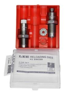 Lee Precision Very Limited Production 2 Die Set 41 Swiss 90411