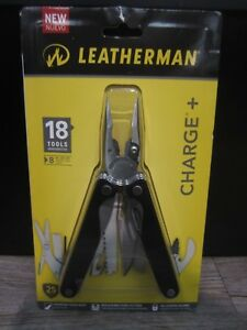 NEW Leatherman Charge 18 Multi Tools with Sheath #832513 plus 8 Pc Bit Kit