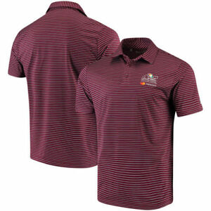 Arnold Palmer Invitational Under Armour Playoff Stripe Performance Polo - Maroon