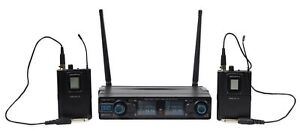 Vocopro Digital 2G 90 Channel UHF Dual Wireless Guitar Amp System Rechargeable $79.95