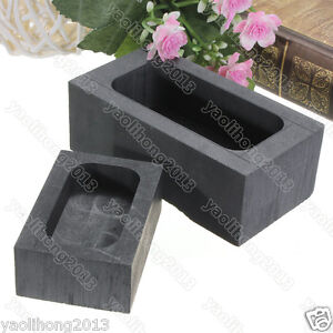 High Purity Graphite Casting Melting Ingot Mold For Gold Silver Metal