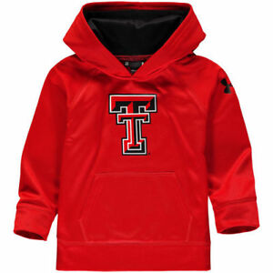 Texas Tech Red Raiders Under Armour Toddler Campus Fleece Hoodie - Red