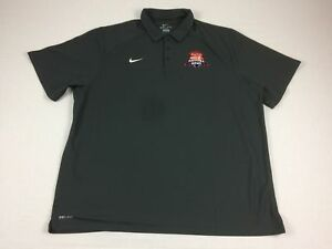 NEW Nike Nevada Wolf Pack - Gray Dri-Fit Polo Shirt (Multiple Sizes)