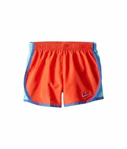 Nike Girls Dri-Fit Running Shorts Orange Size 6 NWT