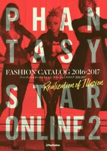 JAPAN NEW Phantasy Star Online 2 Fashion Catalog 2016-17 Realization of Illusion