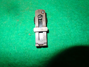Winchester 1873 or 1892  Ladder Sight  Used.