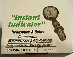 27155 REDDING INSTANT INDICATOR WITH DIAL - 308 WINCHESTER - NEW RANGE ADAPTER