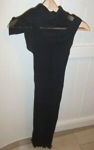 CALVIN KLEIN LADIES ASYMMETRIC RIBBED-KNIT DRESS-SIZE XS-BNWT-VERY CHIC and RARE