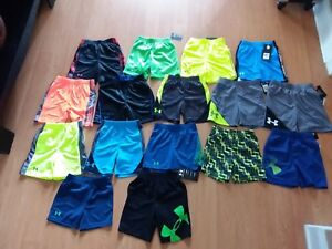Under Armour Toddler Boys' Heat Gear Shorts Many Styles and Colors MSRP $18-$22