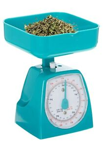 Mini Dial Kitchen Food Scale,Weight Capacity 5 kg (11Lb) Pink/White/Green/Yellow