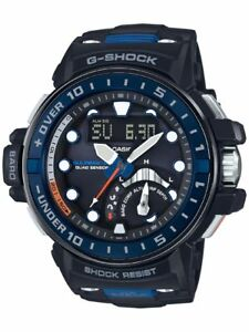 Casio G-Shock Gulfmaster Men's GWNQ1000-1A Depth Sensor Tough Solar 48mm Watch