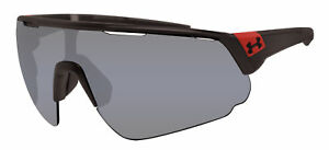 Under Armour changeup satin carbon red gray lens 8600107 new sunglasses $78.99