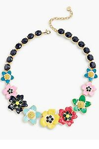 TALBOT'S TROPICAL BLOOMS  NECKLACE-NEW WITH TAG-SRP $79.50