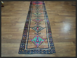 Brilliant Hand Woven 3x10 Hereke Turkish Oriental Runner Rug