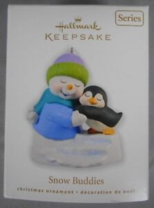 Hallmark Keepsake Ornament Snow Buddies #13 in the series - 2010   MIB