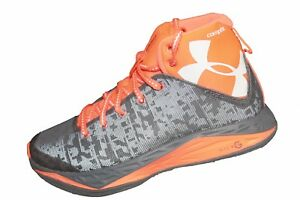 Youth Under Armour Boys GS Fire Shot Basketball Shoes Size 7 - 1276857-040