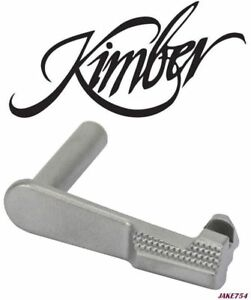 KIMBER 1911 Slide Stop .38  .40  9mm  10mm - Stainless # 1100393A  New
