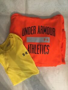 Mens Under Armour Lot Size XL Hoodie And Tee
