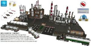 Lego Chemical Factory Industrial Instructions Modular Custom Building City Town
