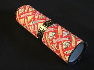 Vtg Marcel Schurman JAPAN Toy Kaleidoscope Prism w Fabric Covering