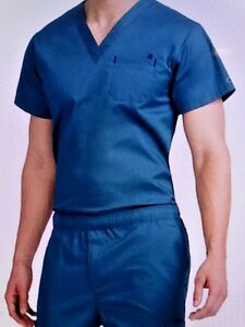 MC2 Men#x27;s Scrub Sets Top:8486 1 Pkts Pant:8702 7Pkts Caribbean 3XL NWT
