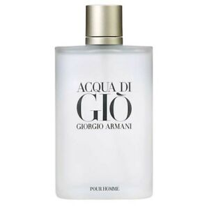 Acqua Di Gio By Giorgio Armani 6.7 oz Edt Spray For Men Unsealed
