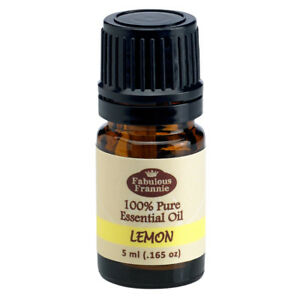 Lemon 5ml Pure Essential Oil BUY 3 GET1 by Fabulous Frannie