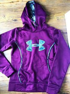 Womens under armour camo hoodie size small
