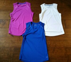 Womens C9 Champion Semi-Fitted Sleeveless Athletic Top Small Shirt Tank LOT of 3