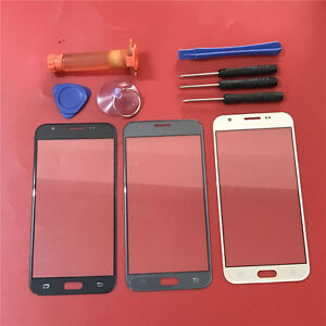 Front Outer Screen Glass Lens Replacement For Samsung Galaxy J7 Prime 2017 J727