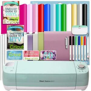 Cricut Explore Air 2 Vinyl And Heat Transfer Vinyl Bundle