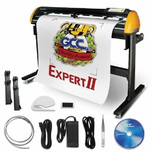 GCC Professional Expert II 24 Inch Wide Vinyl Cutter With Stand