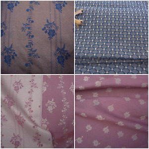 Brocade Reversible Leaf Print Diamond Upholstery Fabric Brown Navy Mauve Caramel $9.95