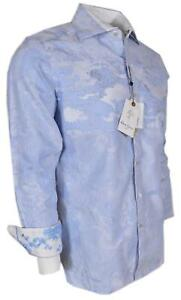 NEW Robert Graham $398 BE HEARD Blue Classic Fit Limited Edition Sports Shirt