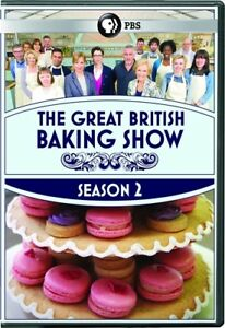 THE GREAT BRITISH BAKING SHOW TV SERIES COMPLETE SEASON 2 New Sealed 3 DVD Set