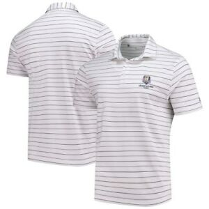 Under Armour 2018 Ryder Cup Stripe 2.0 Performance Polo - WhiteGray
