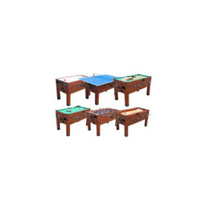 Berner Billiards 13 in 1 Combination Game Table Cherry