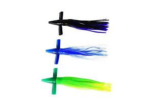 Saltwater Offshore Fishing Lure Bird Teaser Combo 3 Pack