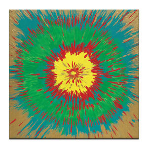 Artist Lane Kaleidoscope by Josie Nobile Painting Print on Wrapped Canvas